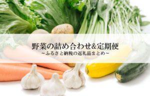 ふるさと納税の野菜の還元率ランキング