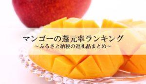 ふるさと納税のおすすめのマンゴーの還元率ランキング